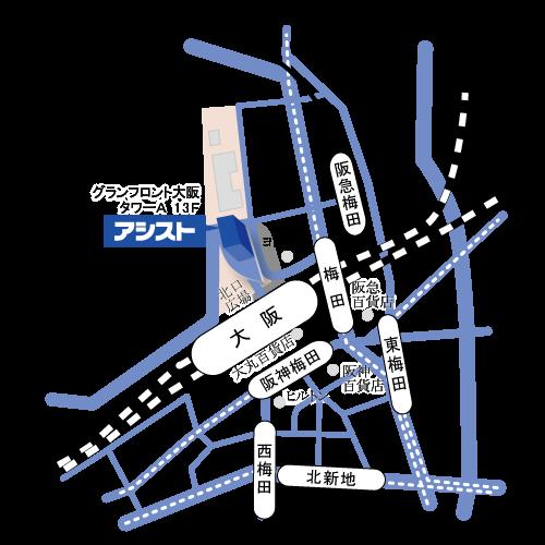 西日本支社 地図