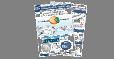 『【Delphix活用例のご紹介】S/4HANAテストサイクル高速化を実現!』ダウンロード