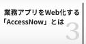 業務アプリをWeb化するAccessNowとは