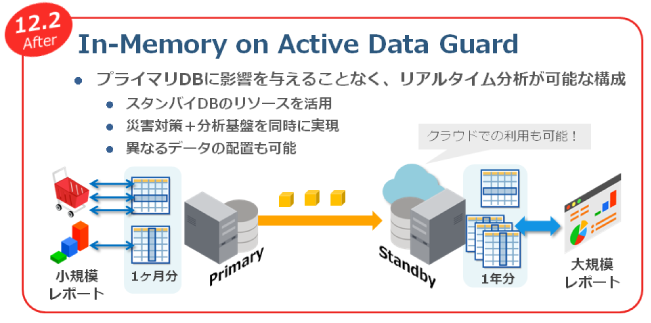 図11:In-Memory on Active Data Guardの概要図